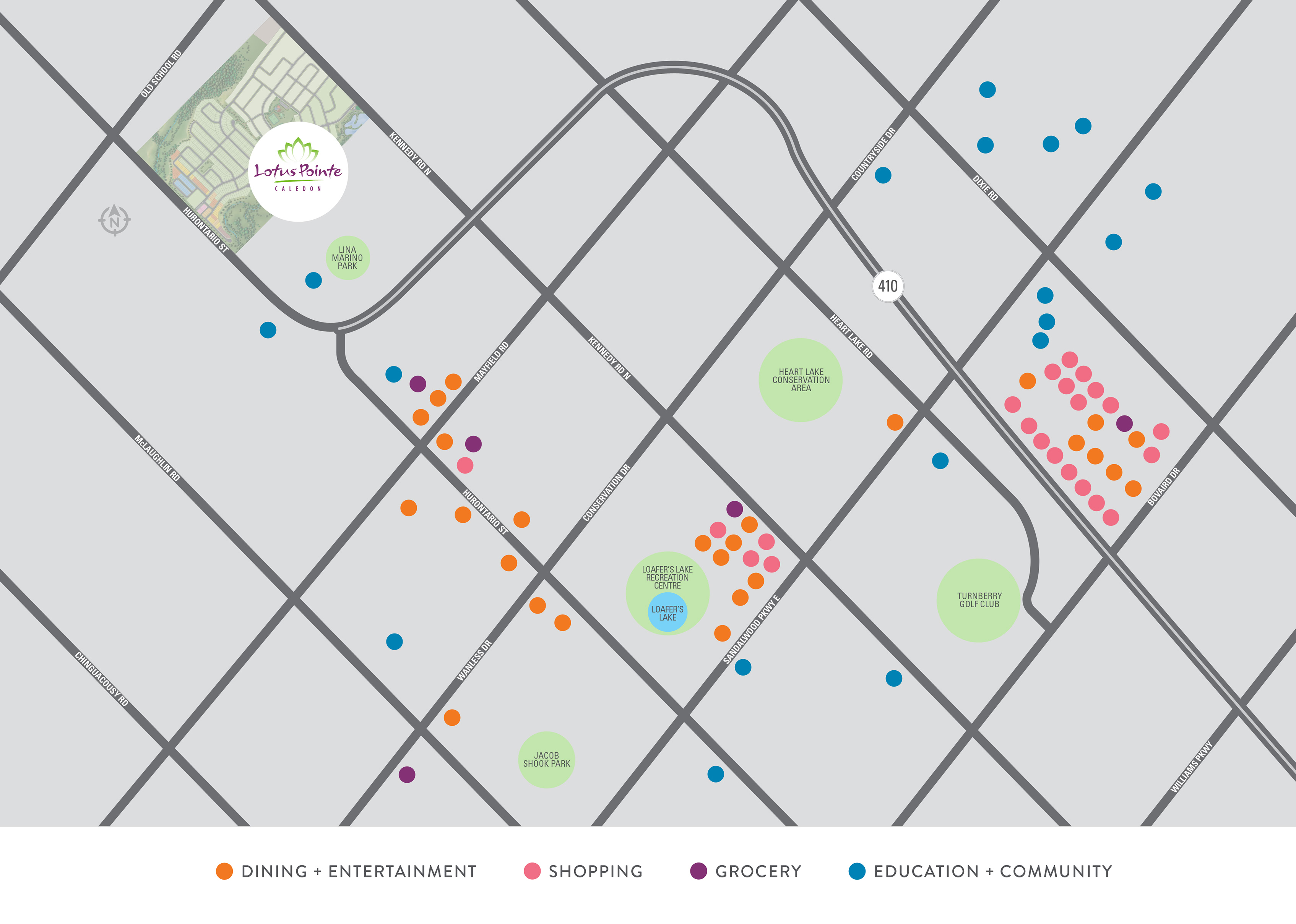 Lotus Pointe Amenities Map