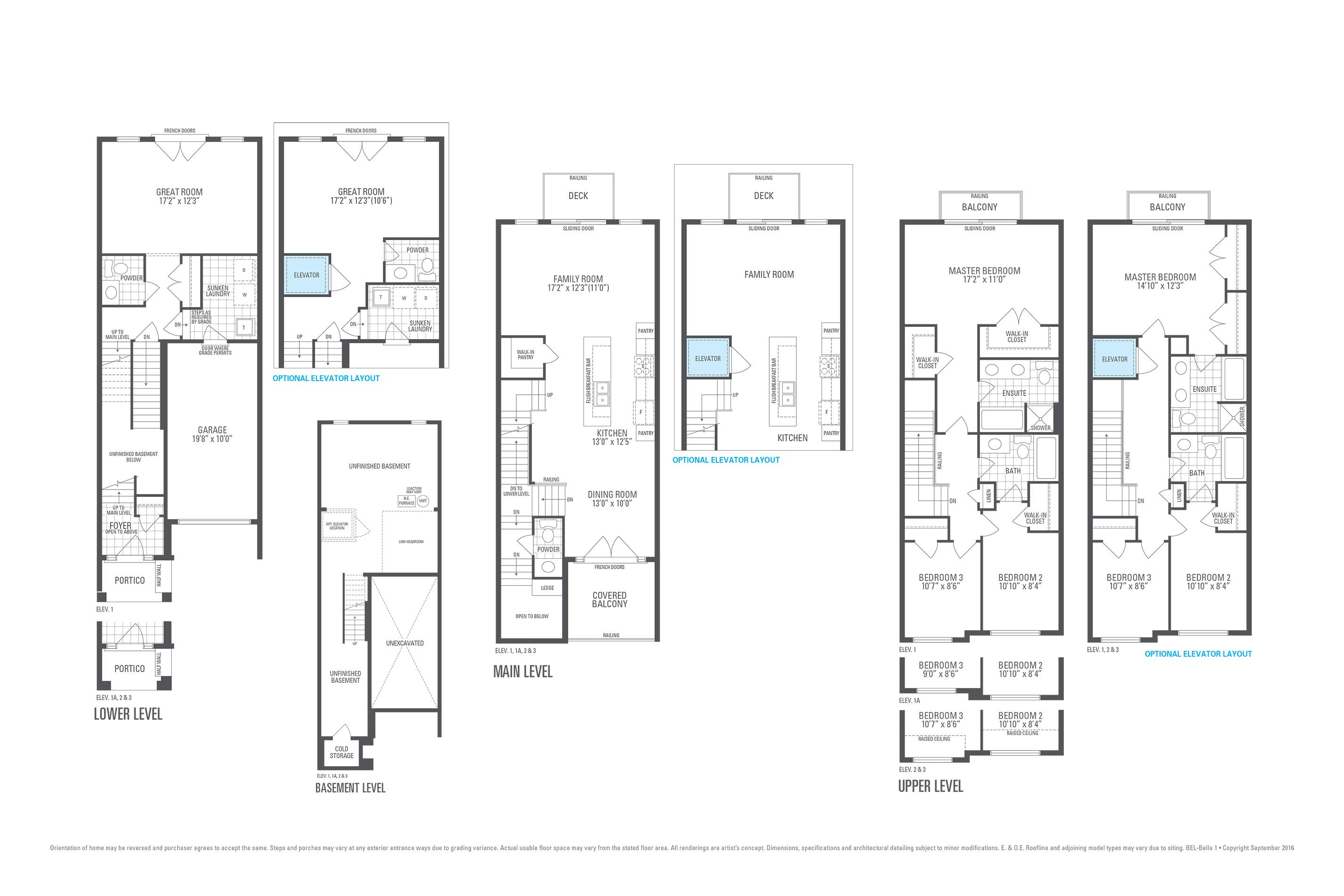 Block-12 T.H. #2 226 Thomas Cook Ave Floorplan