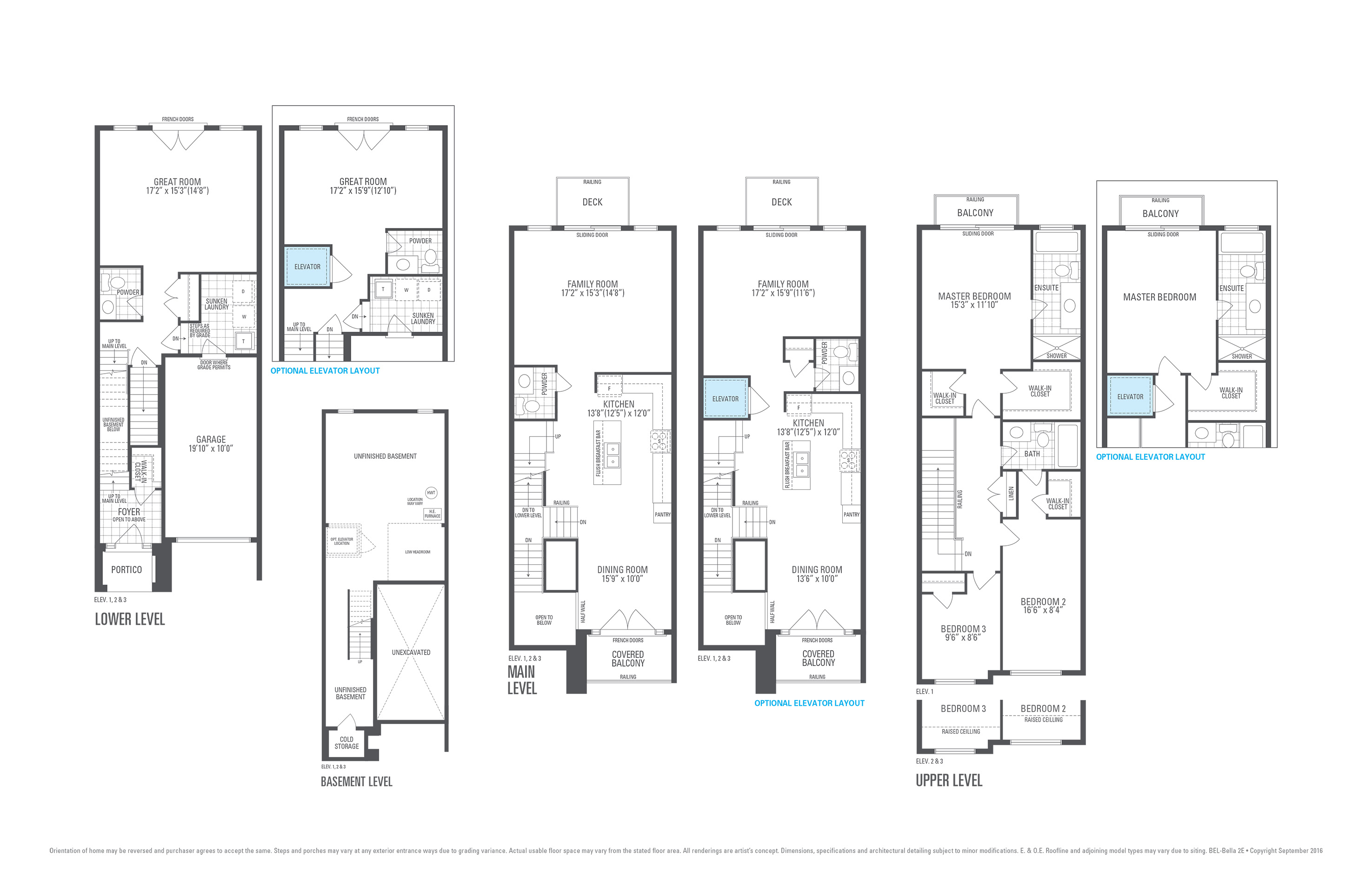 Block-4 T.H. #3 62 Arianna Crescent Floorplan