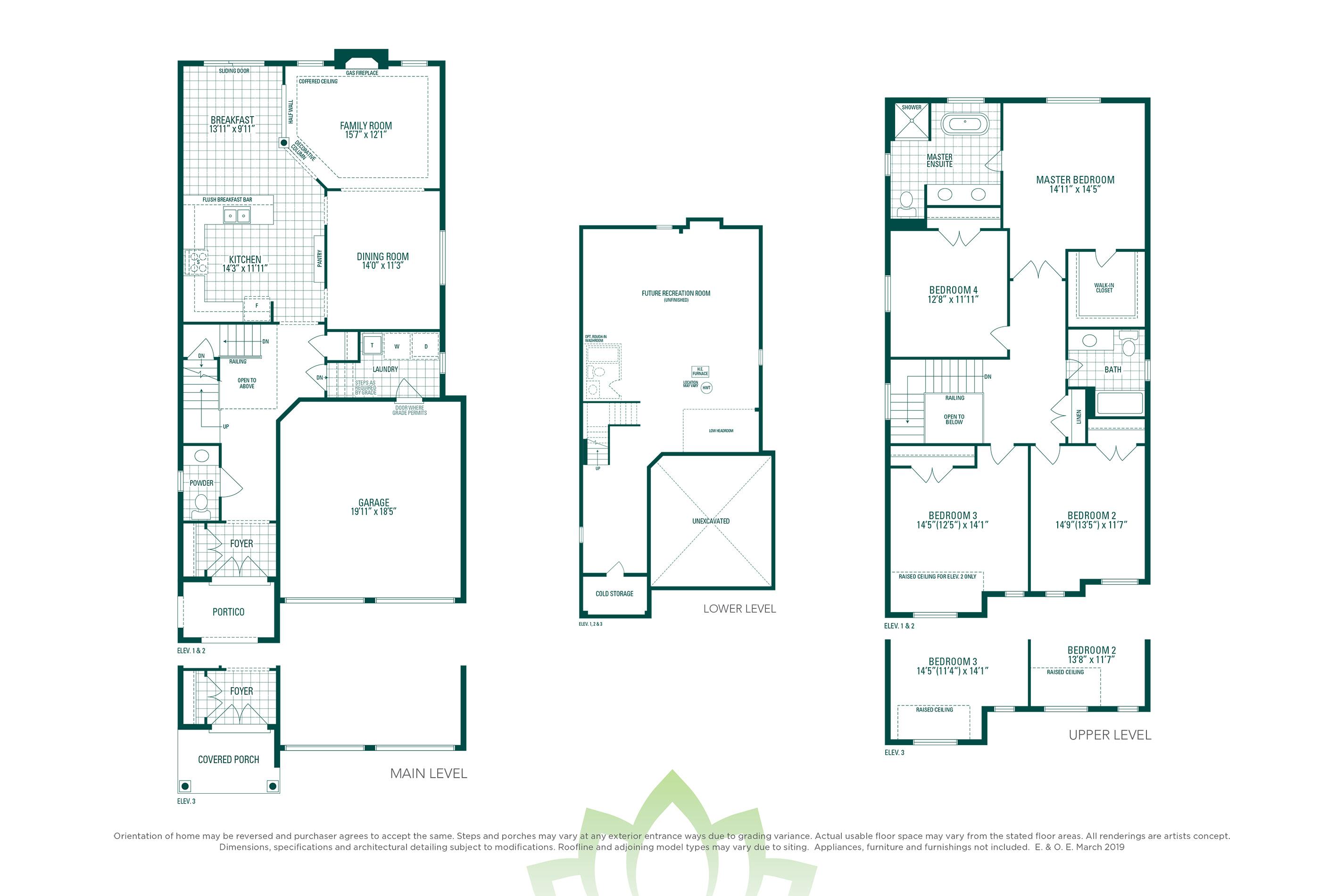 Brentwood 1A Floorplan