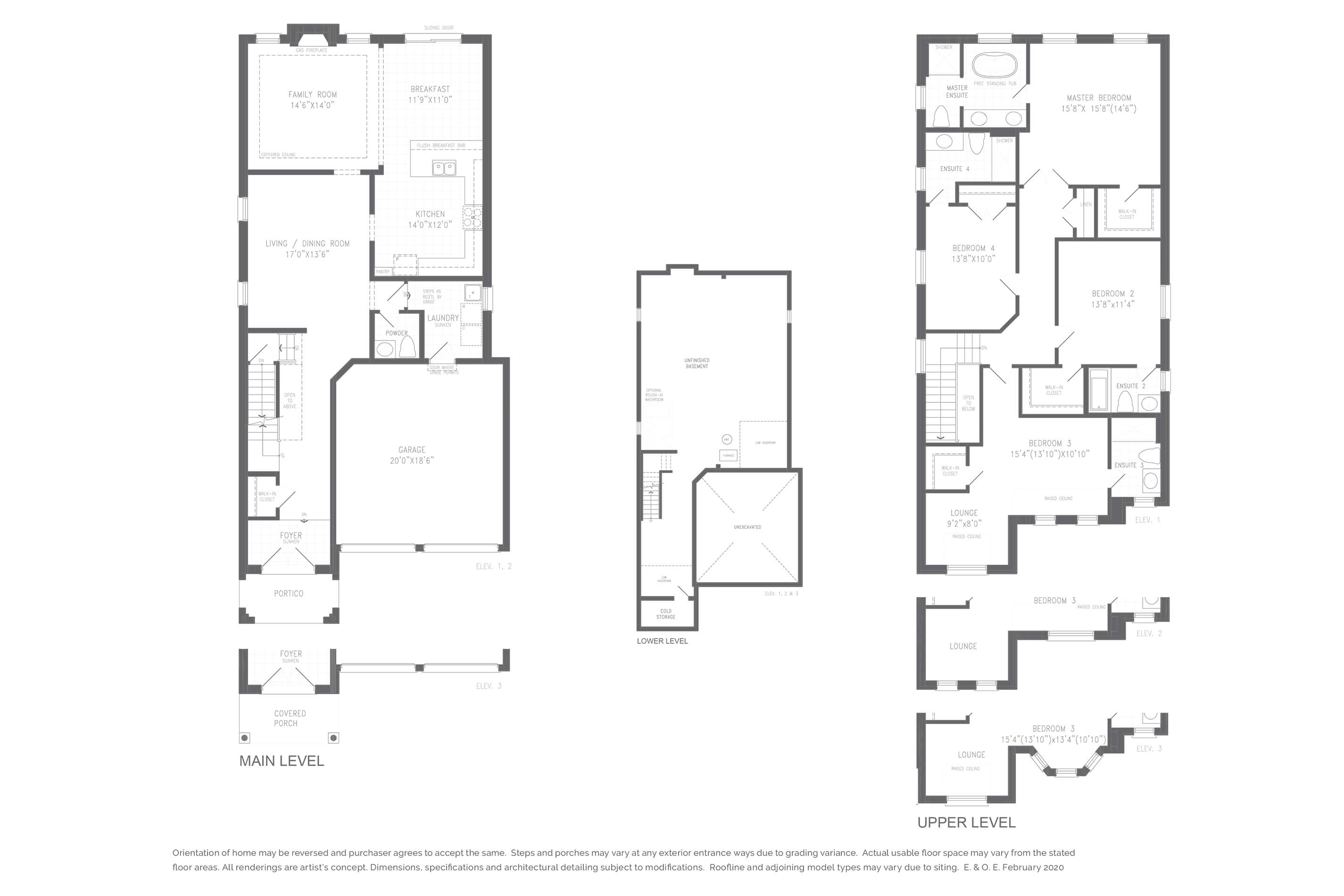 Brentwood 3 Floorplan