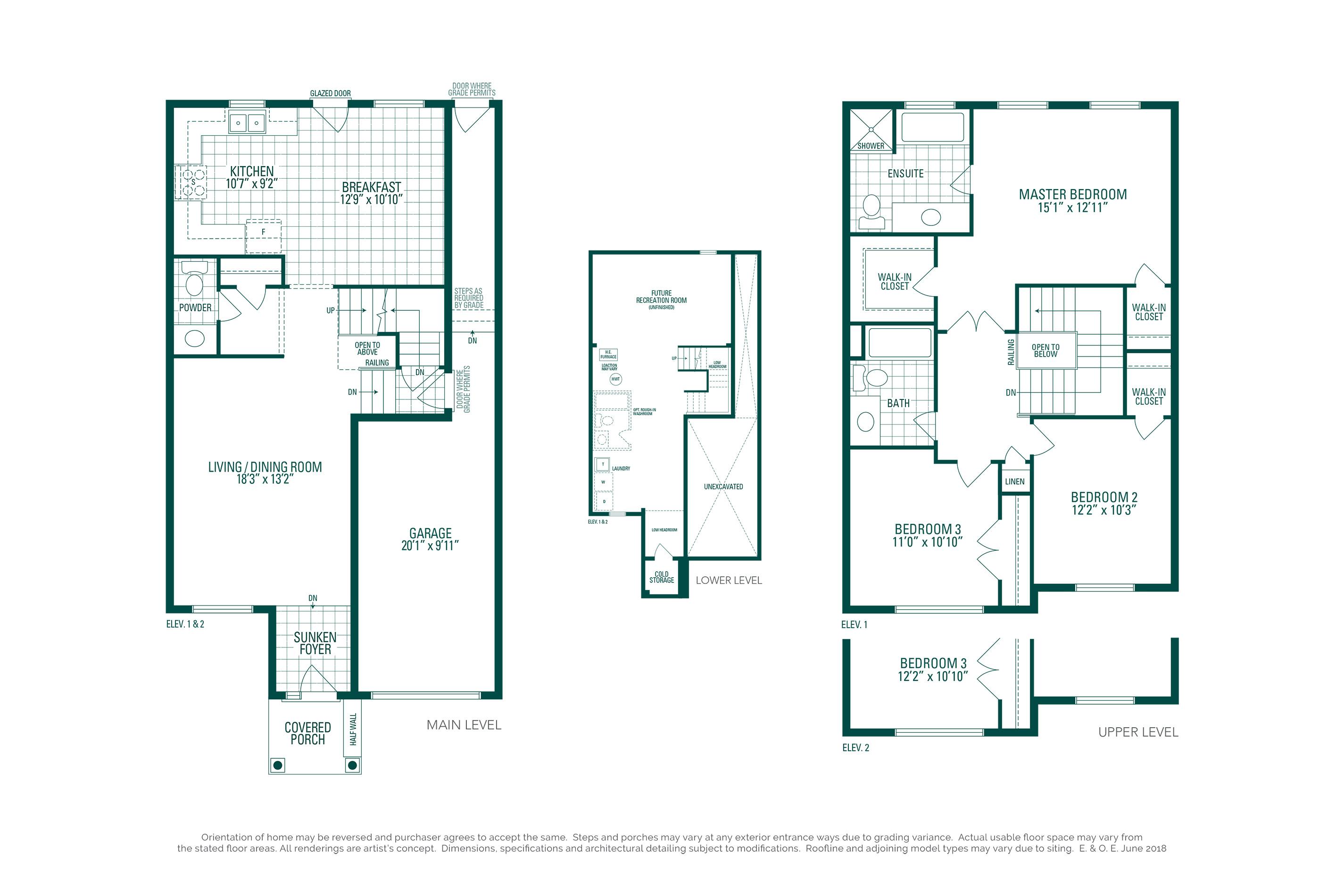 Clover 1A Floorplan