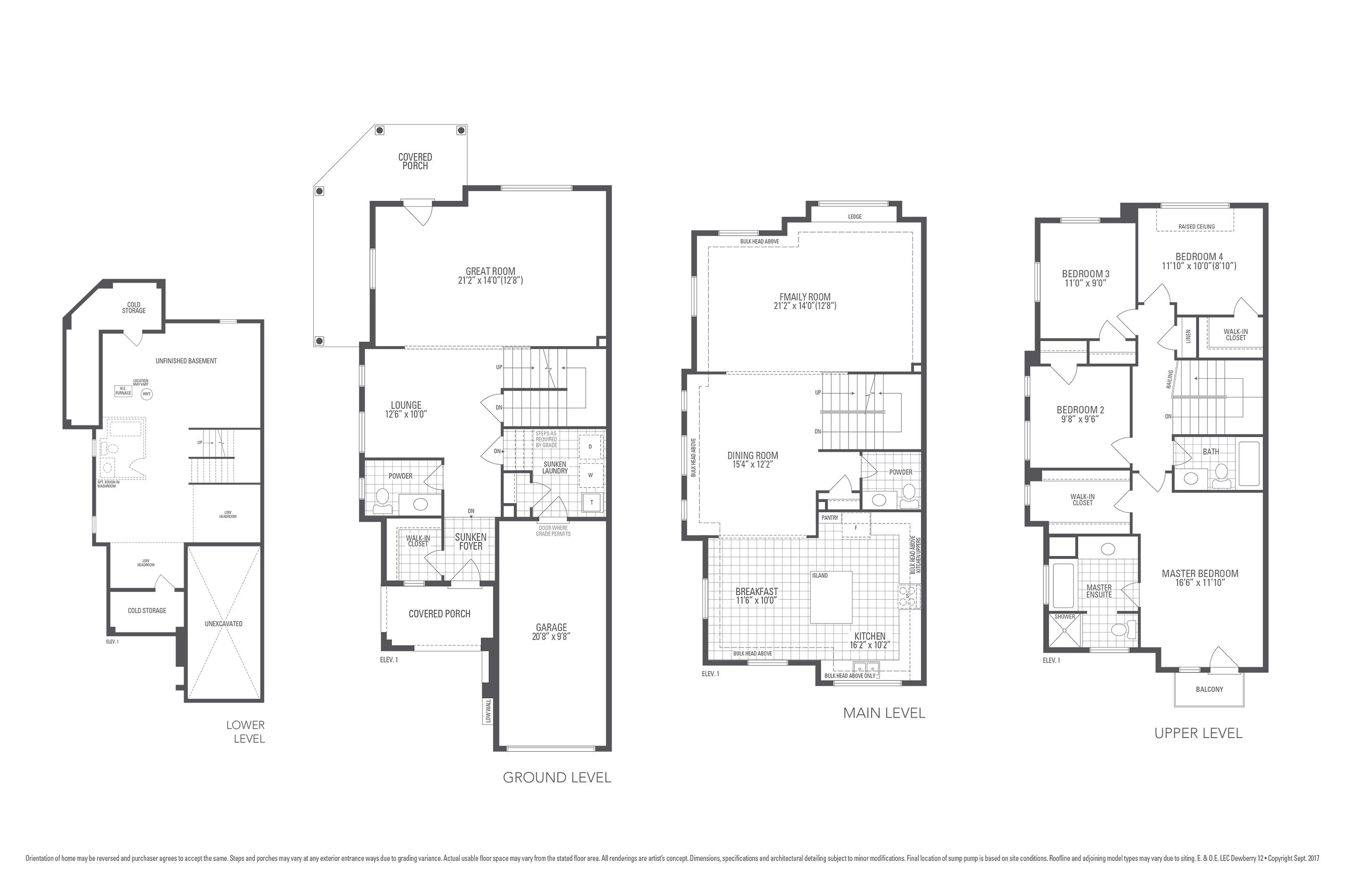 Dewberry 12 Floorplan