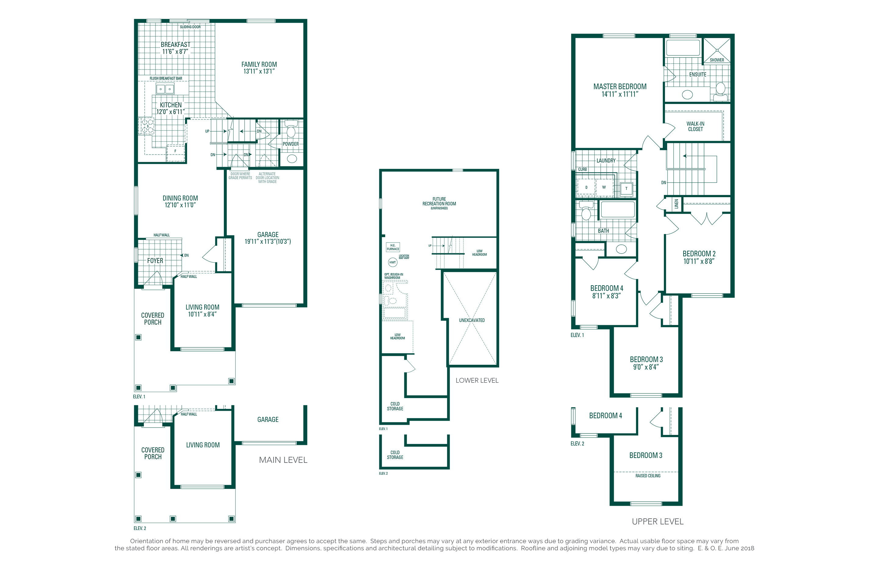 Hemlock 4 Floorplan