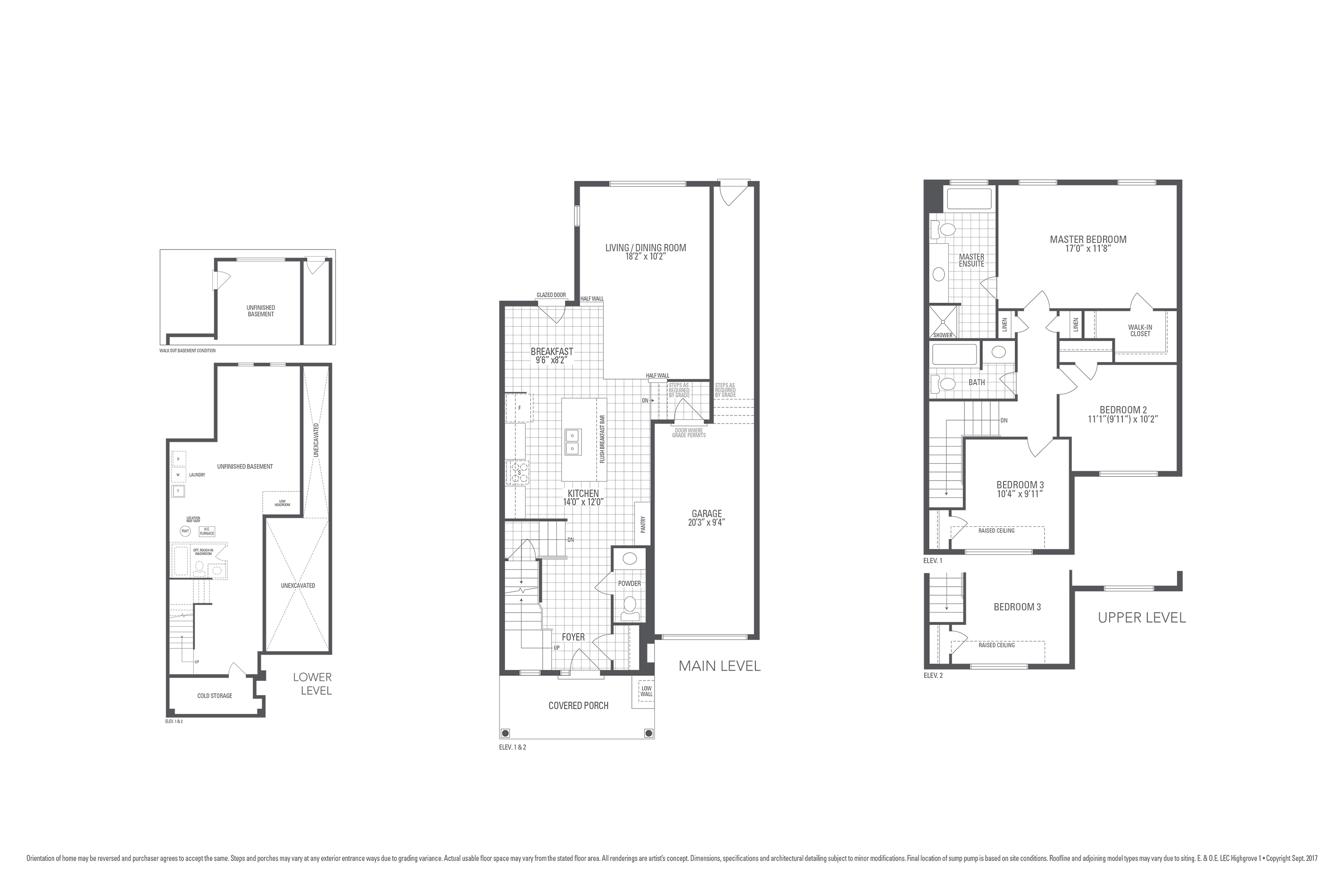 Highgrove 1 Floorplan