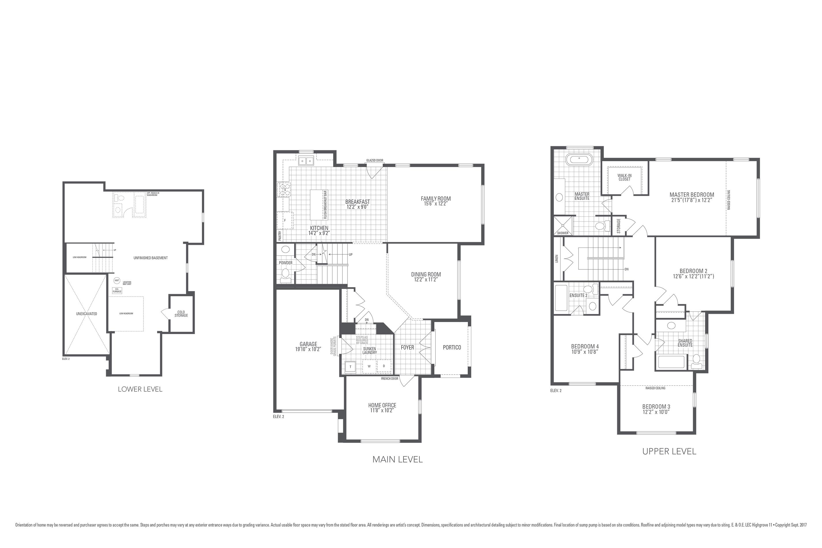 Highgrove 11 Floorplan