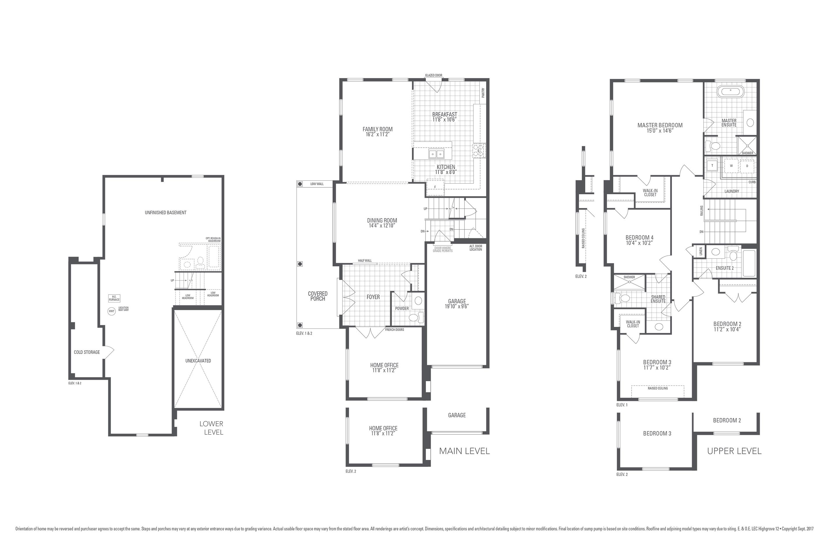 Highgrove 12 Floorplan
