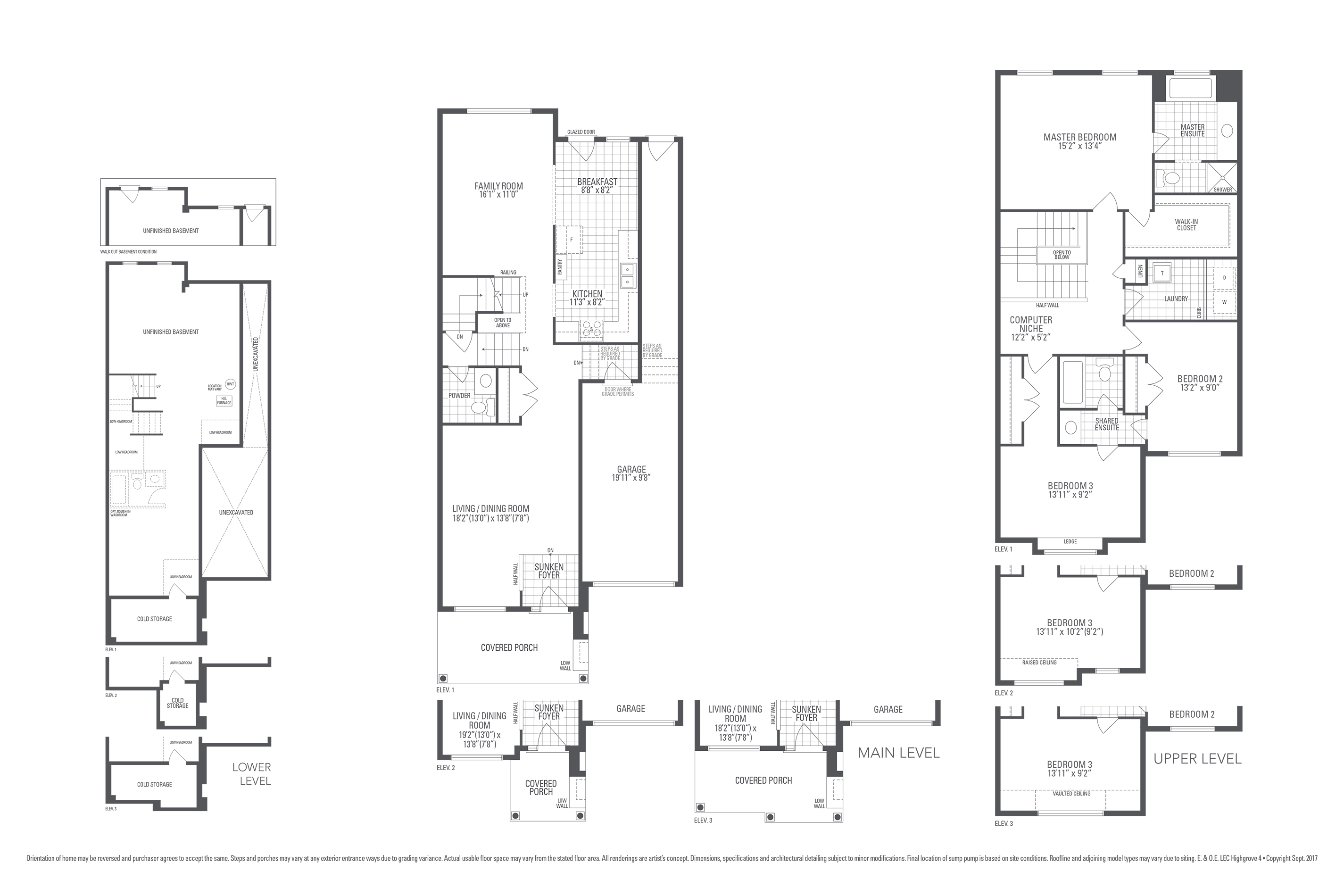 Highgrove 4 Floorplan