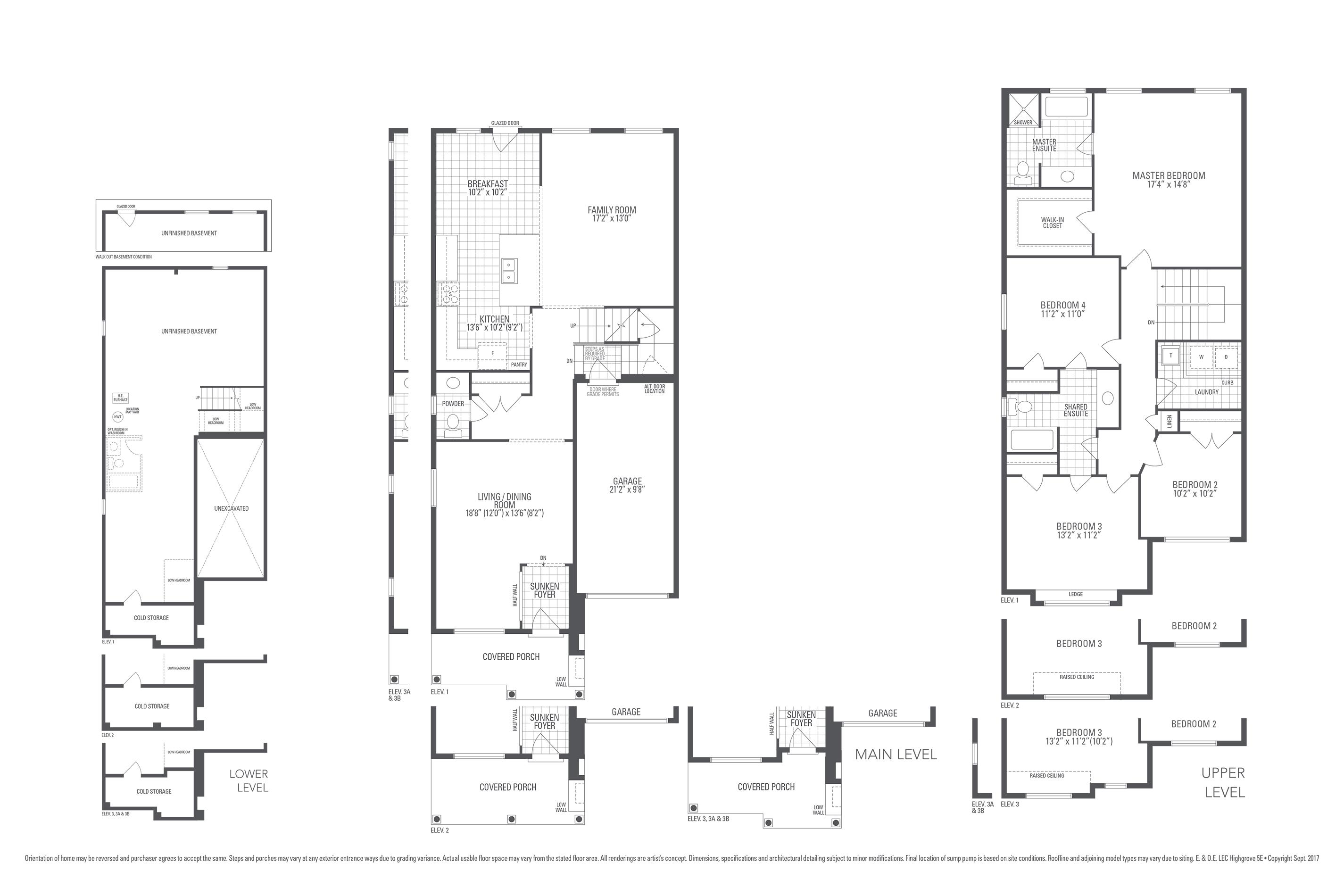 Highgrove 5E Floorplan