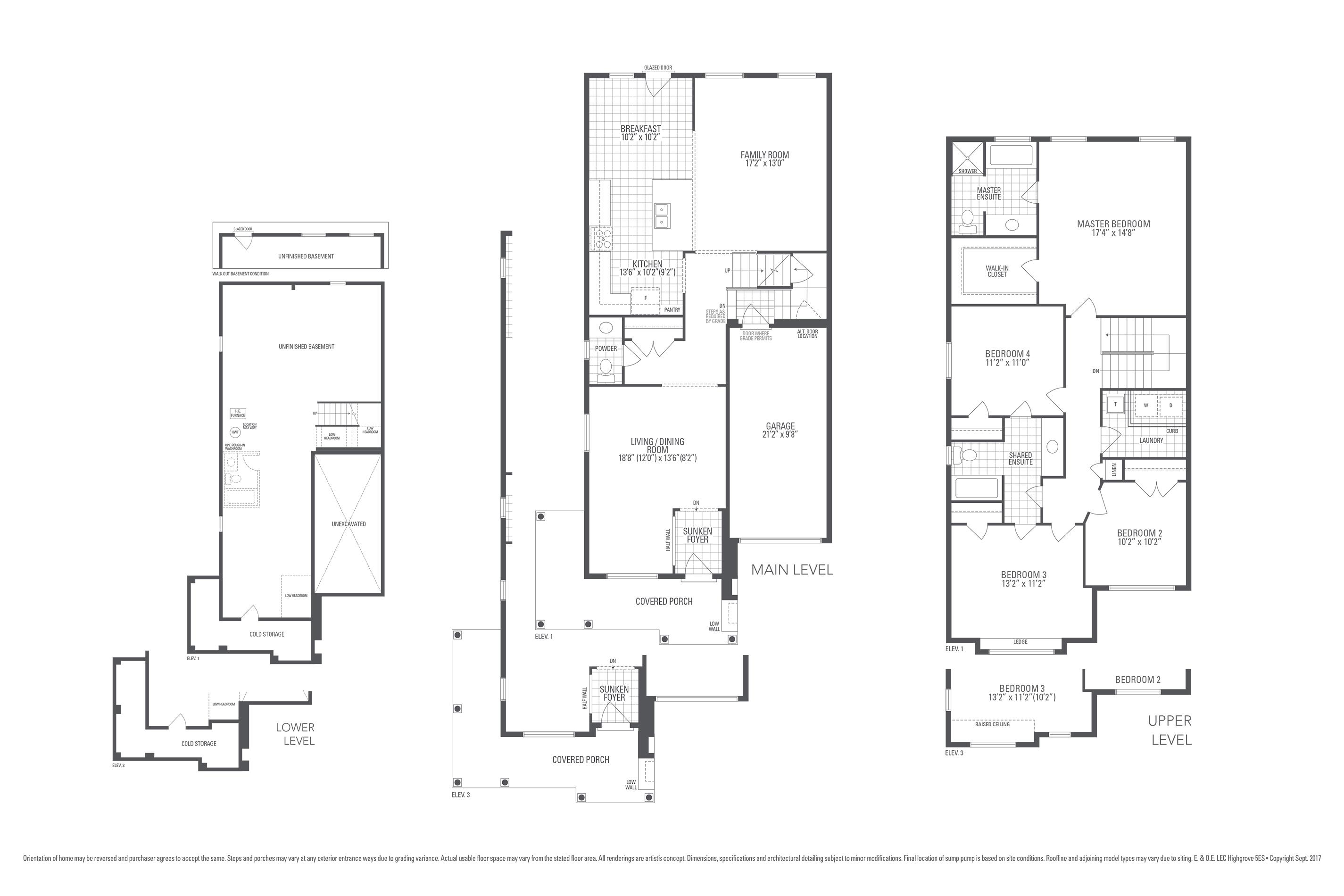 Highgrove 5ES Floorplan