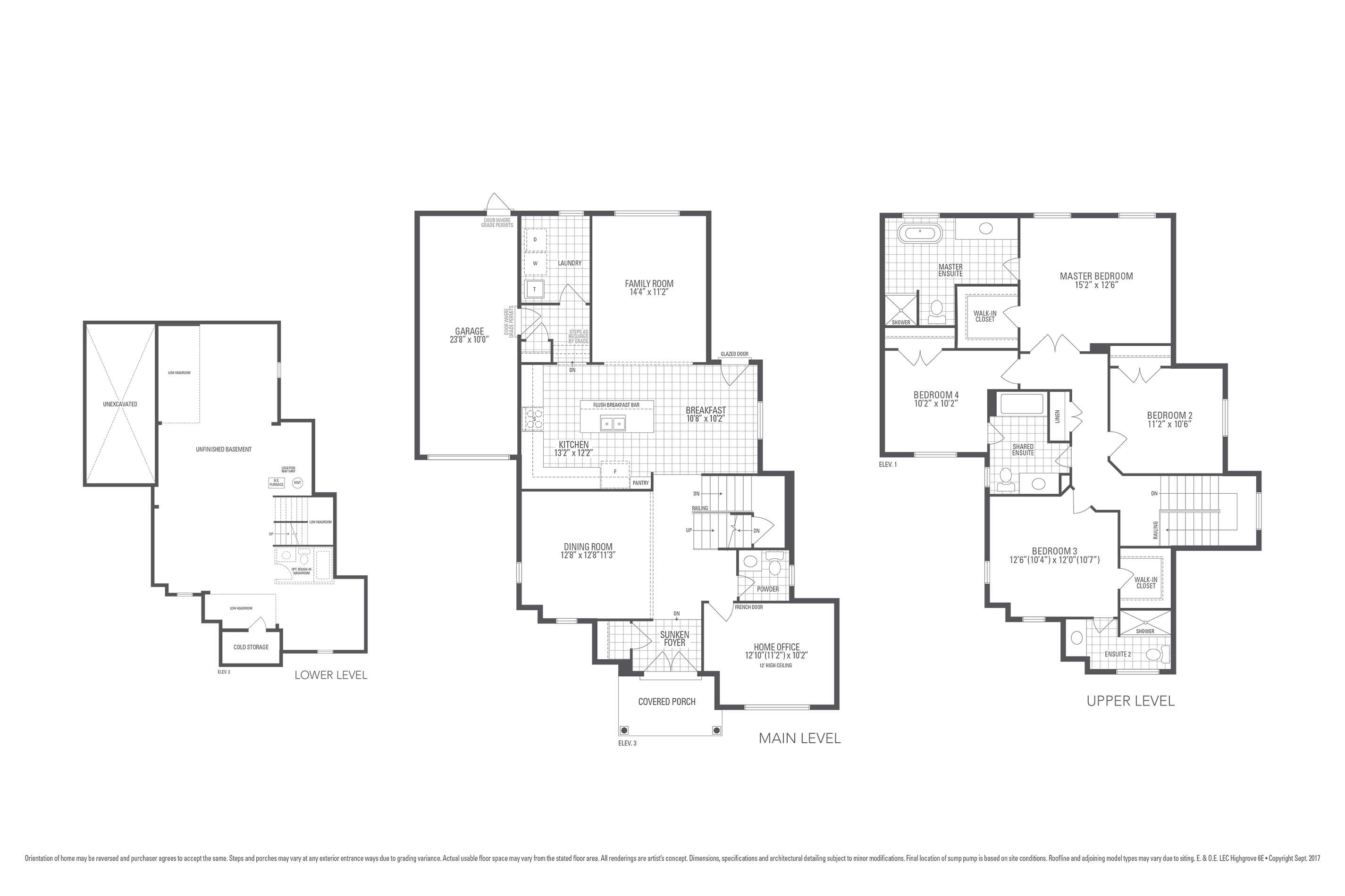 Highgrove 6E Floorplan