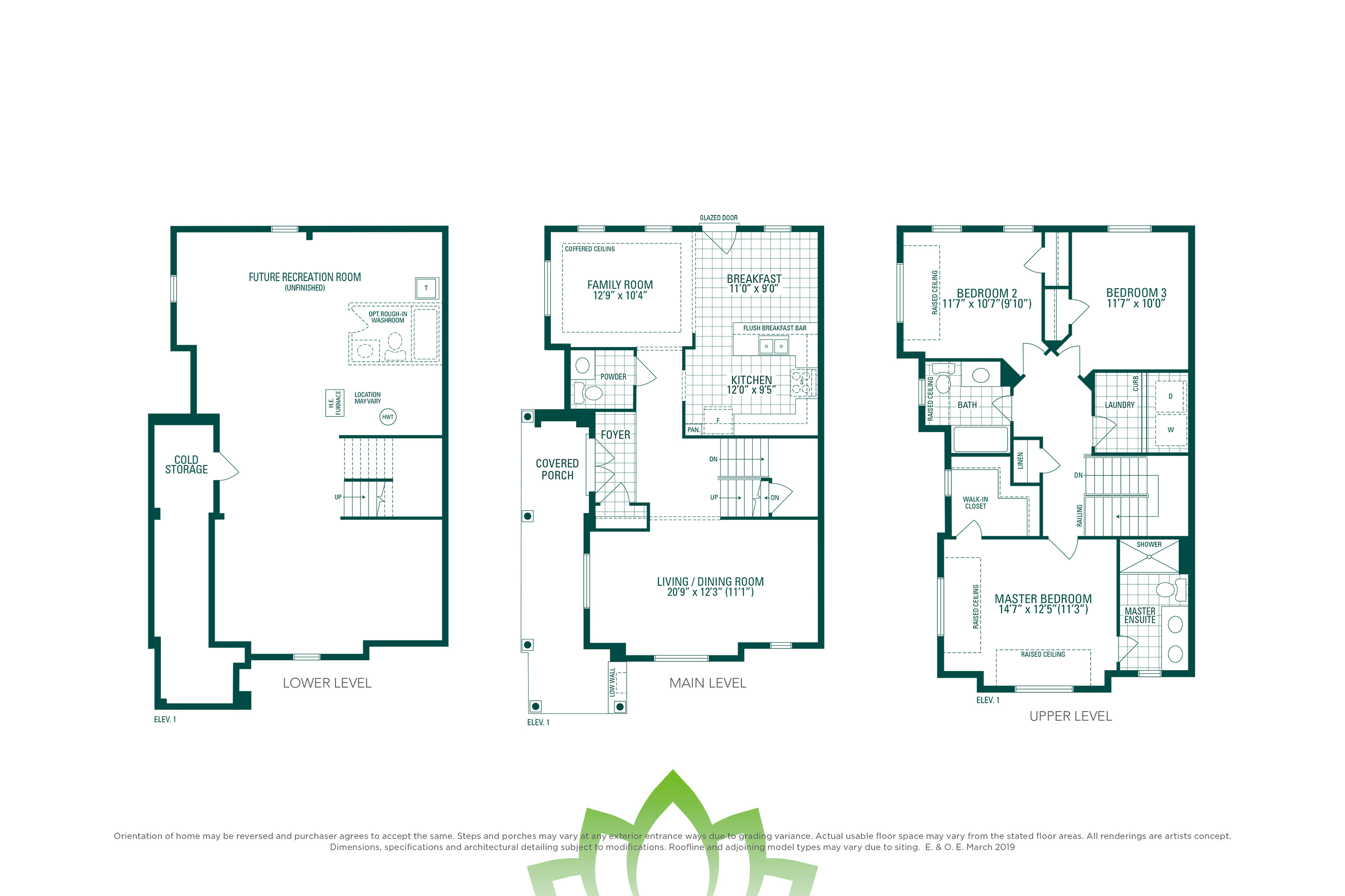 Horizon 12 Floorplan
