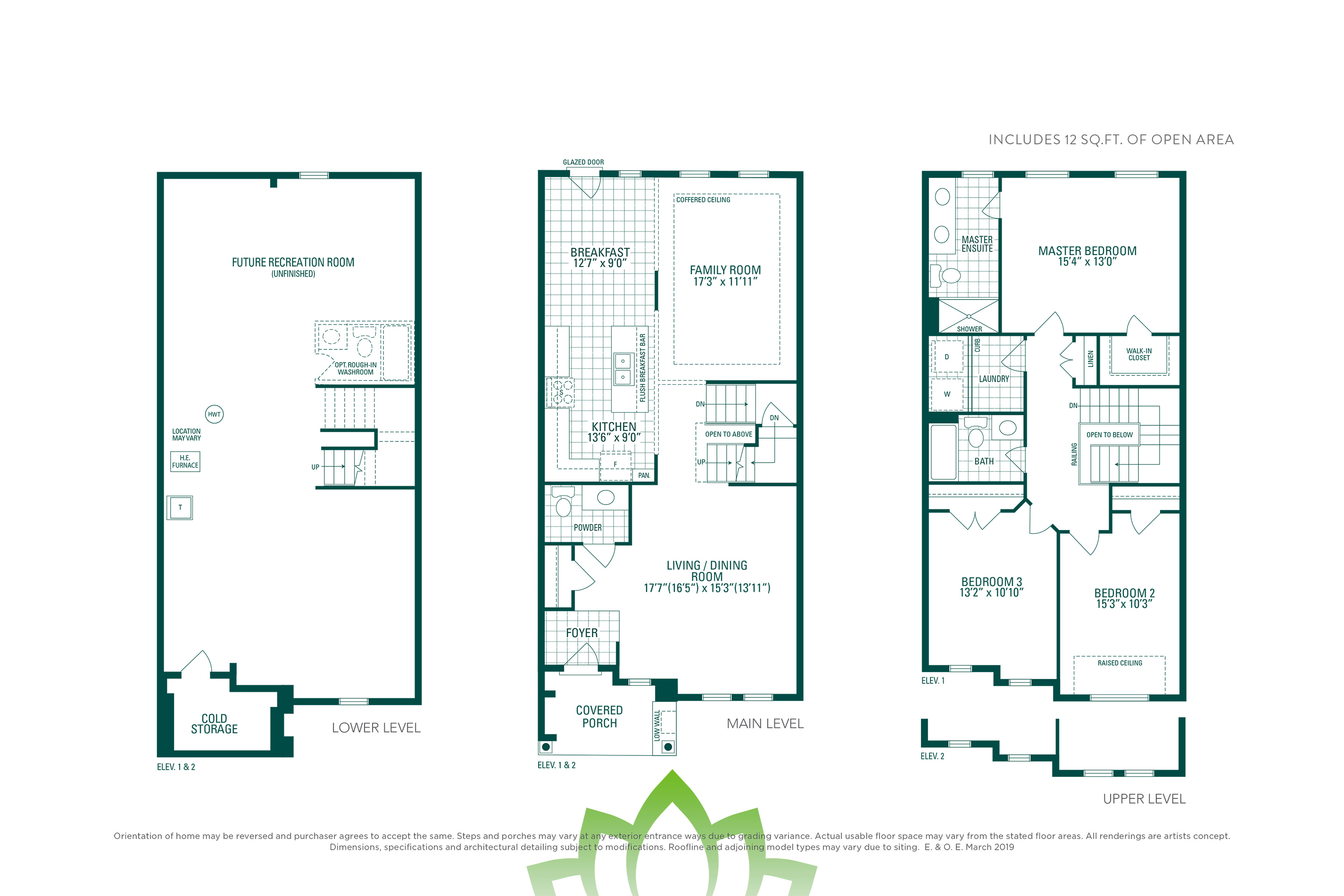 Horizon 2 Floorplan