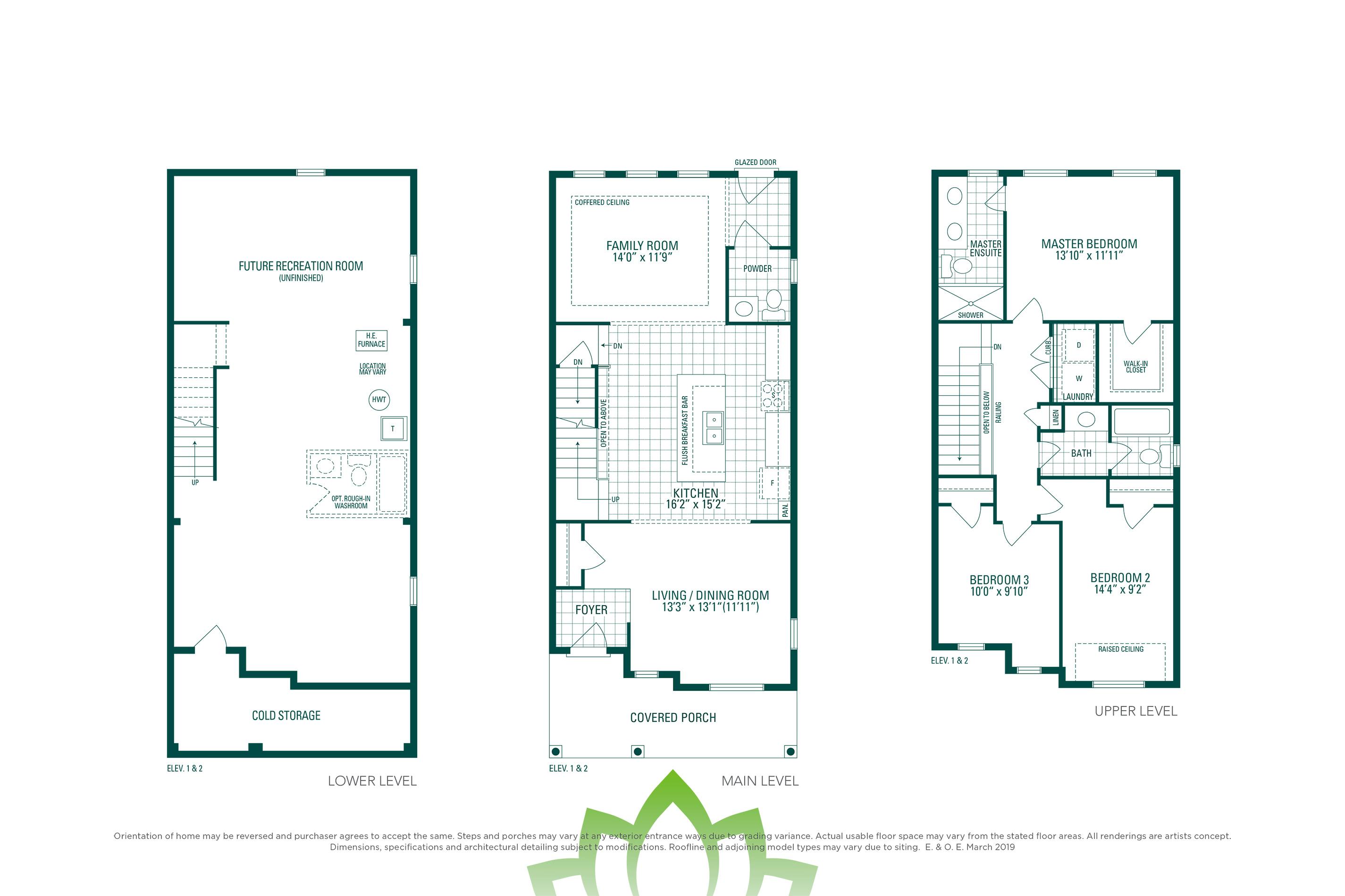 Horizon 3E Floorplan