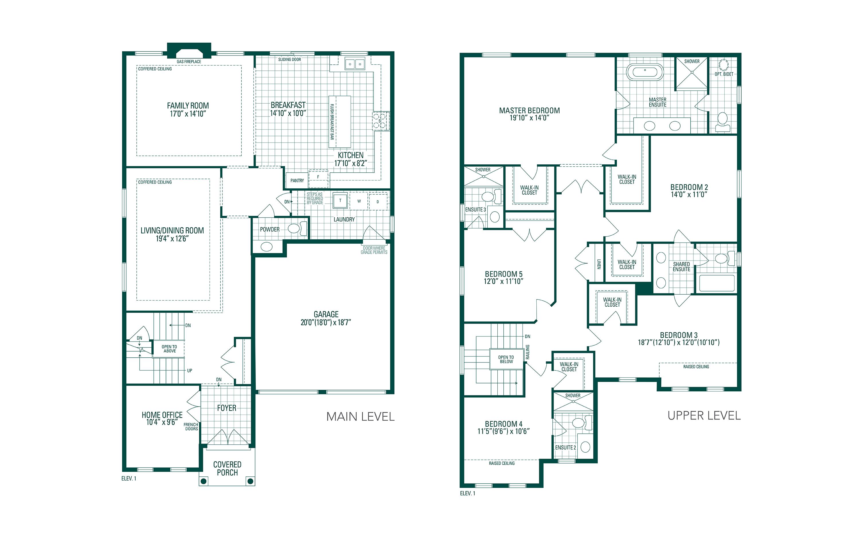 Lot #264 Devine Point Floorplan