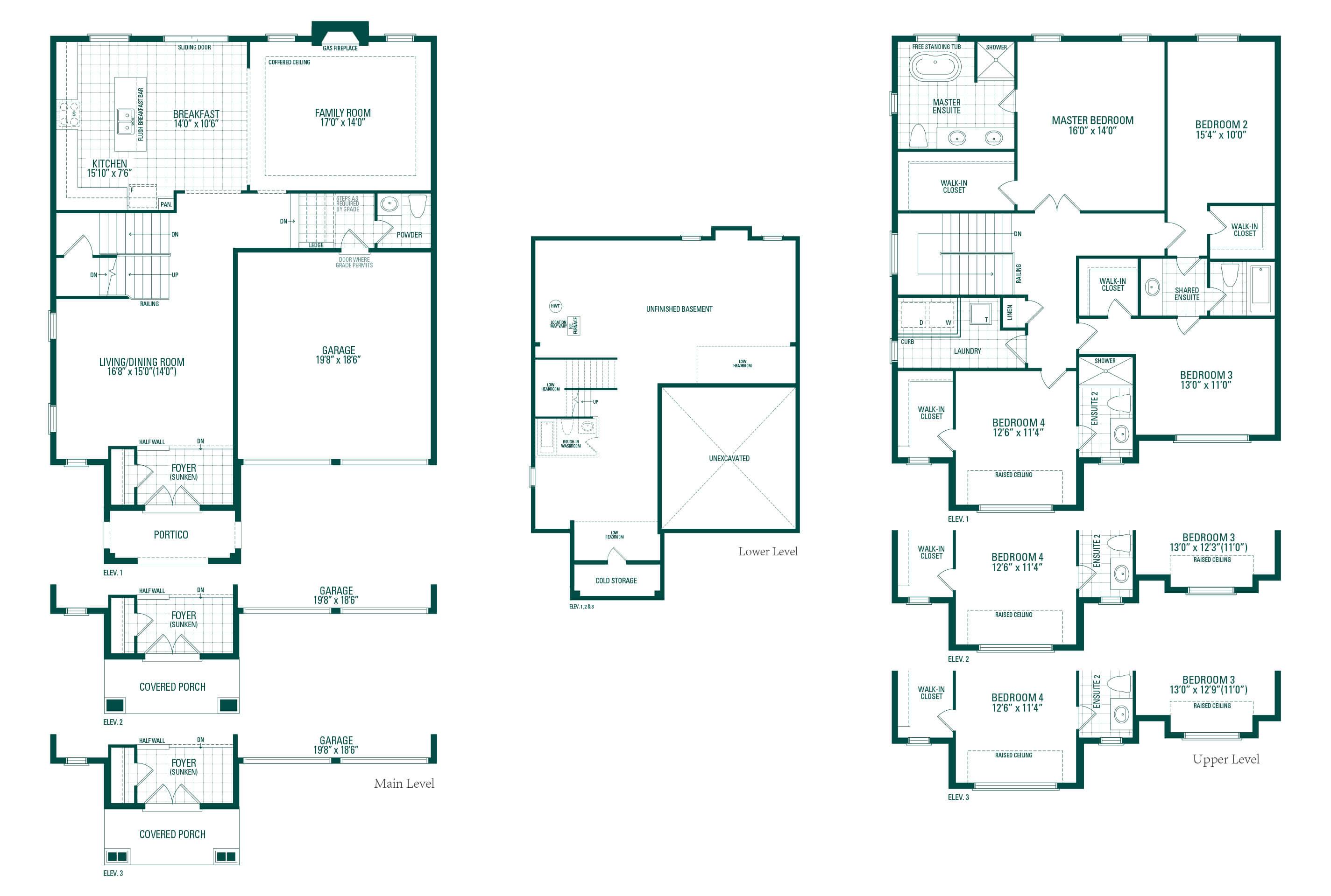 Kimberly One Floorplan