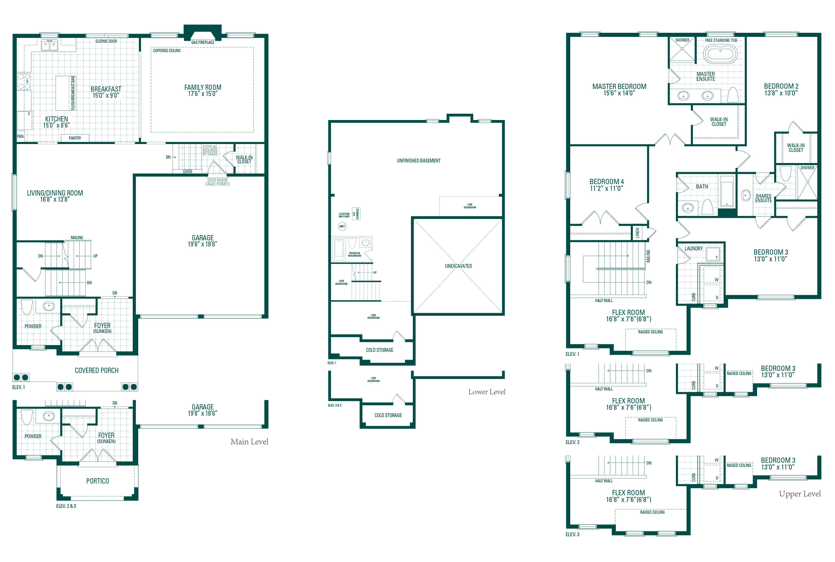 Kimberly Three Floorplan
