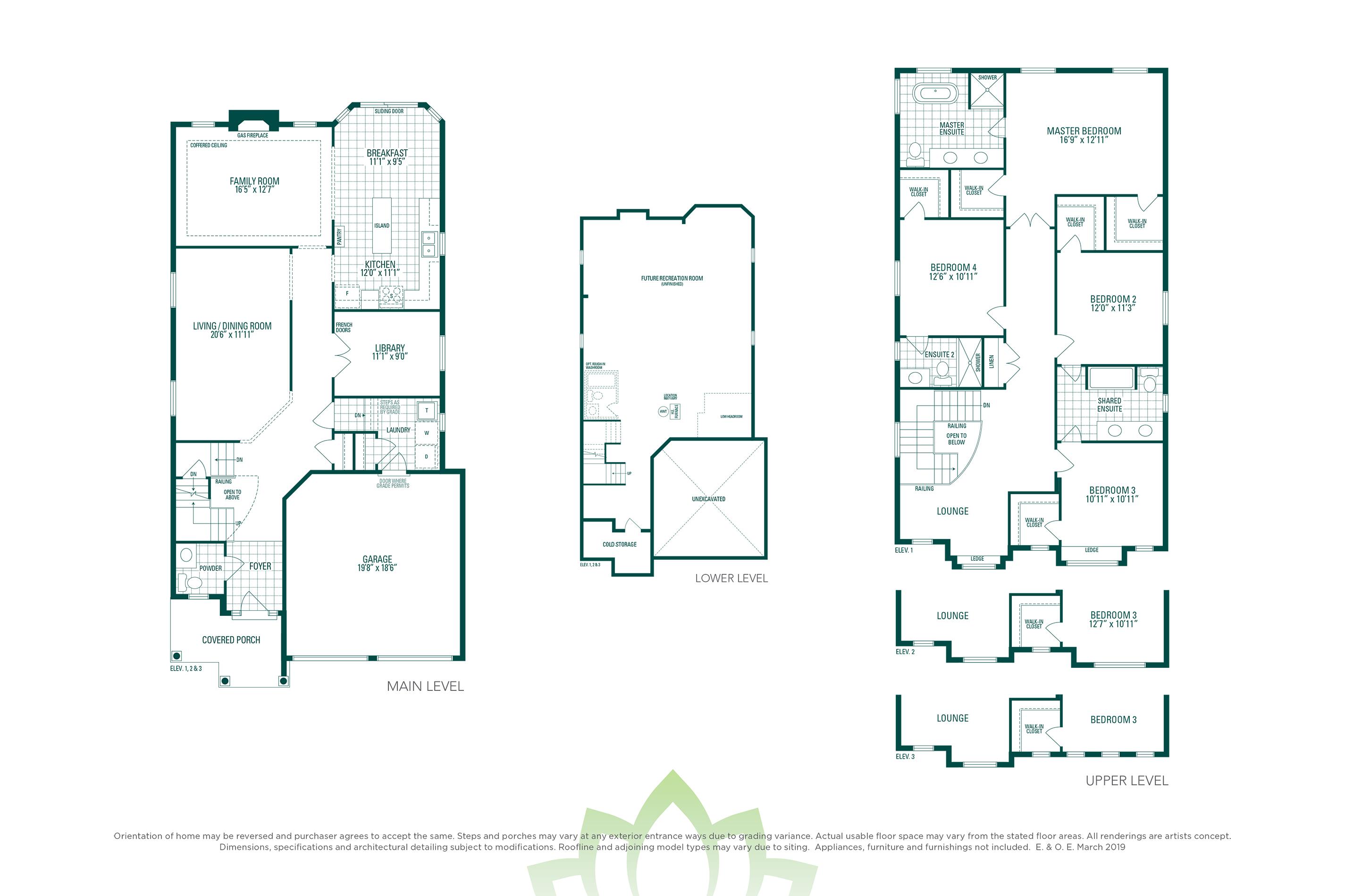 Millwood 4A Floorplan