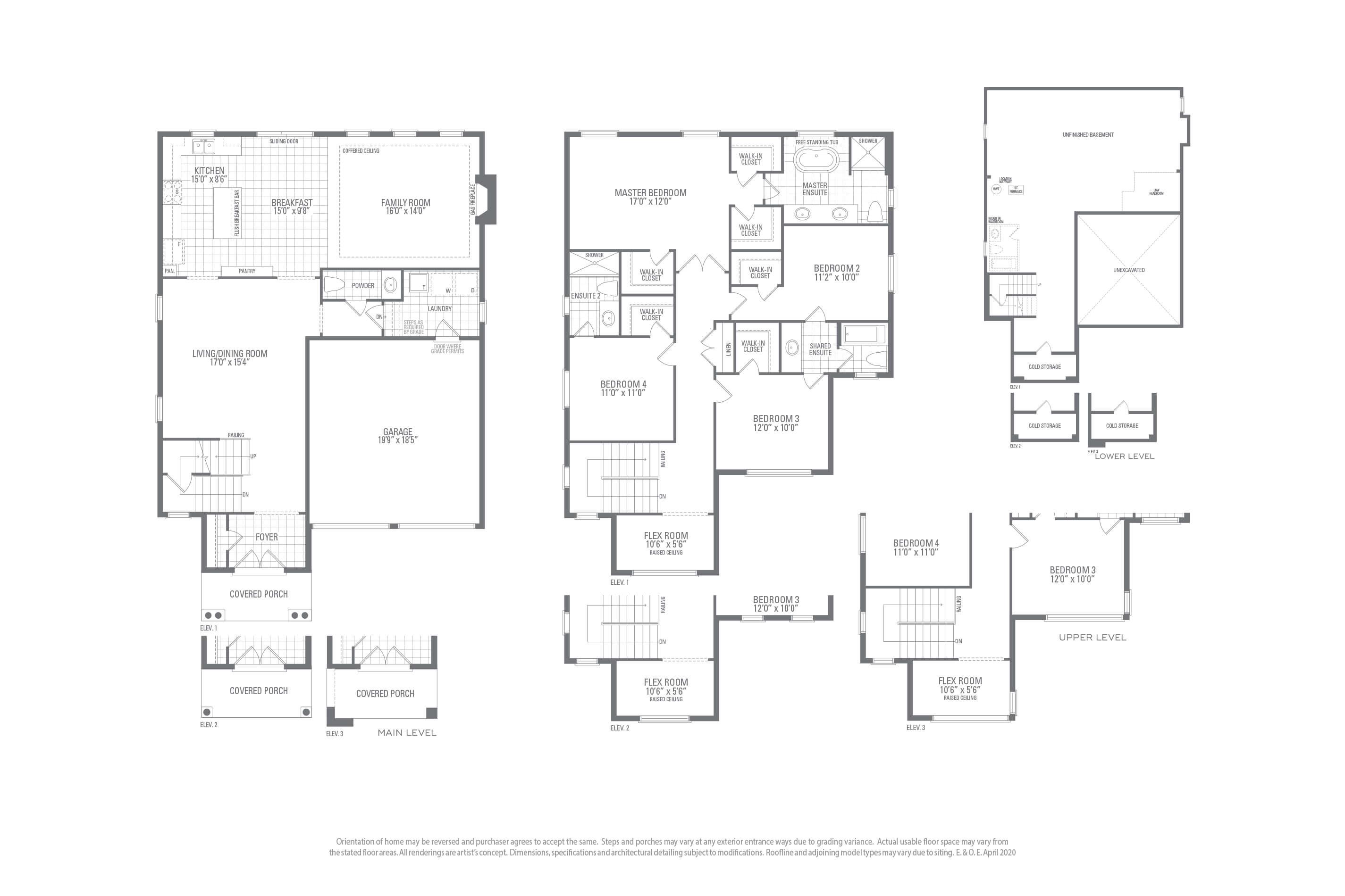 Mountainash One Floorplan
