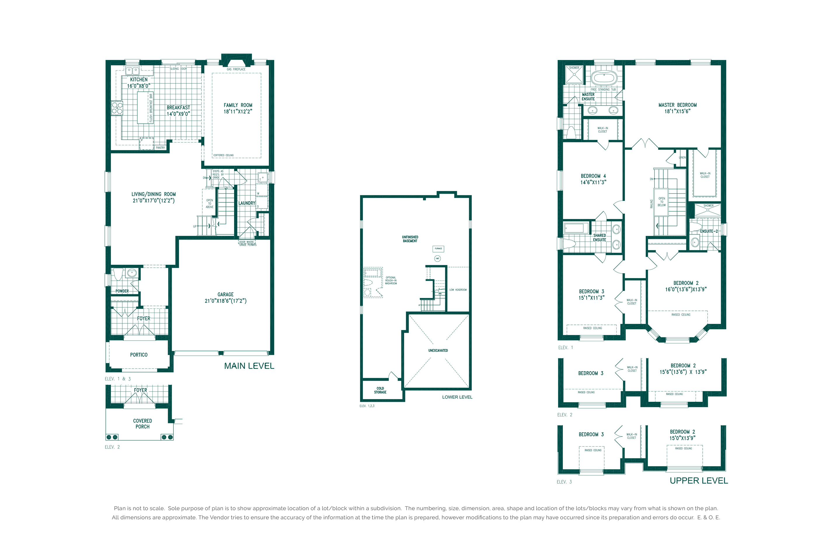 Pinebrook 1A Floorplan