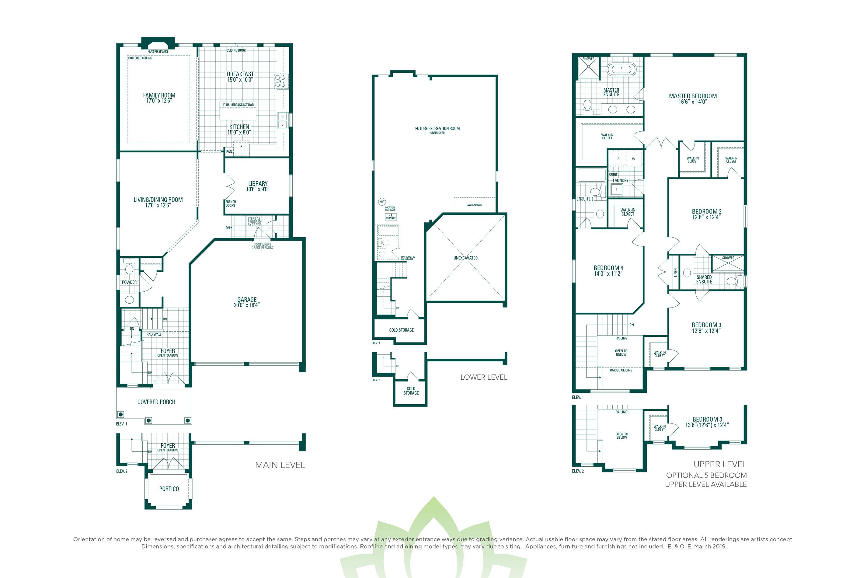 Preston 3 Floorplan