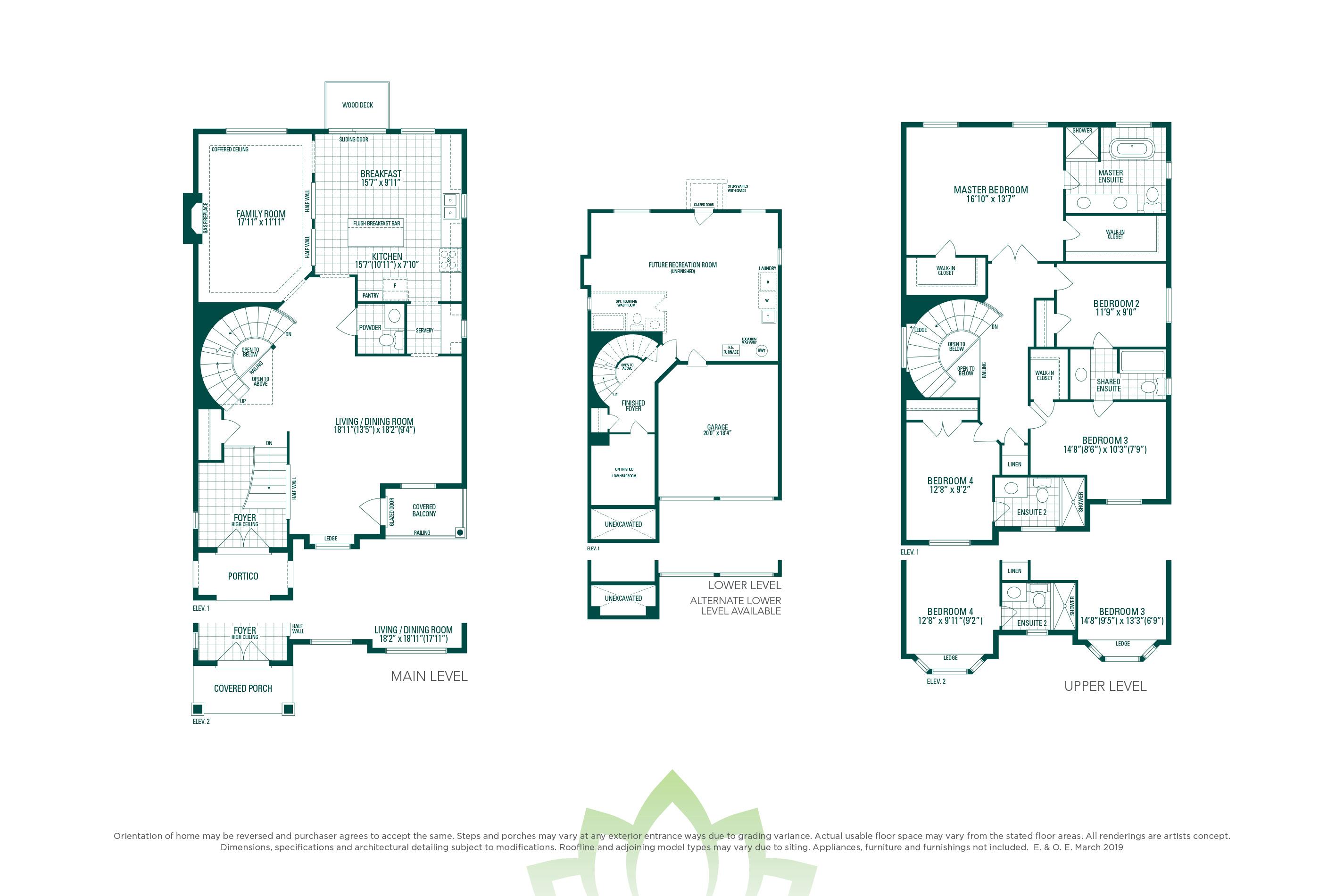 Preston 4 Floorplan
