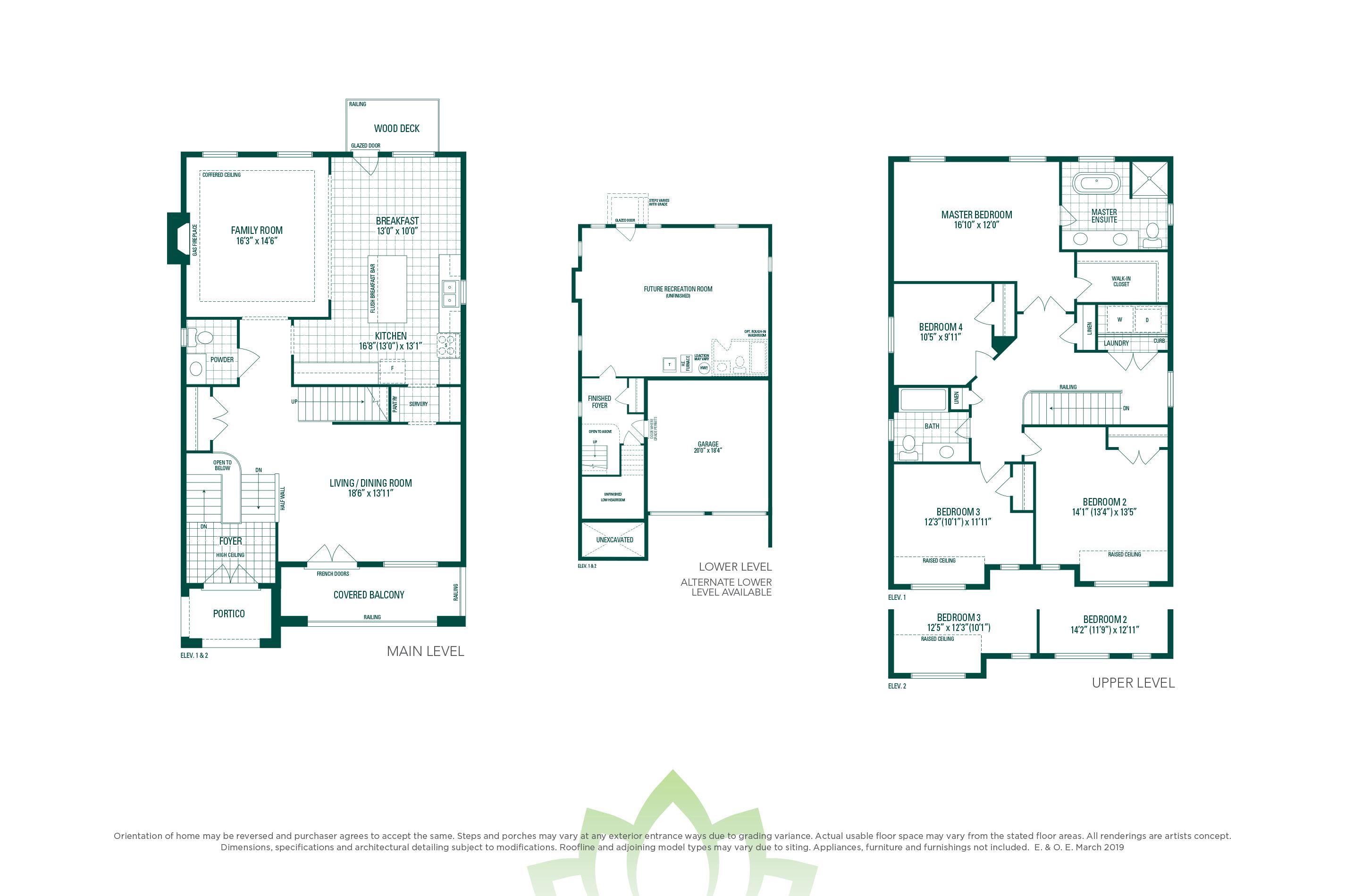 Preston 5 Floorplan