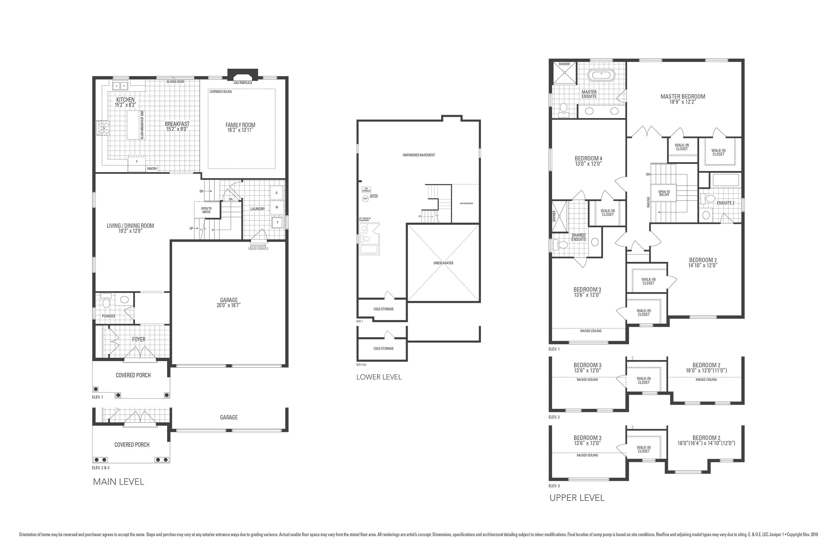 Rosewood 1 Floorplan
