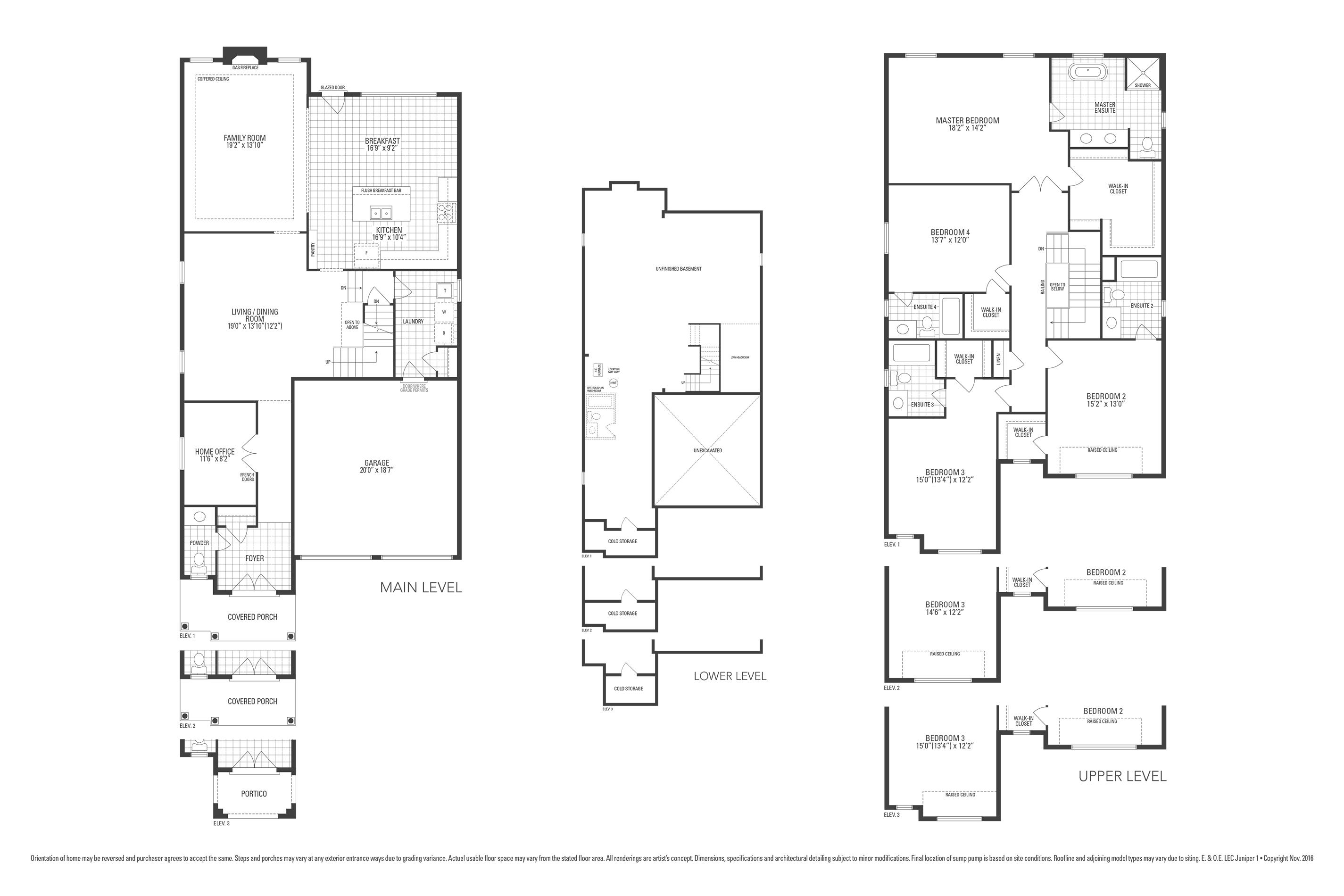 Rosewood 7 Floorplan