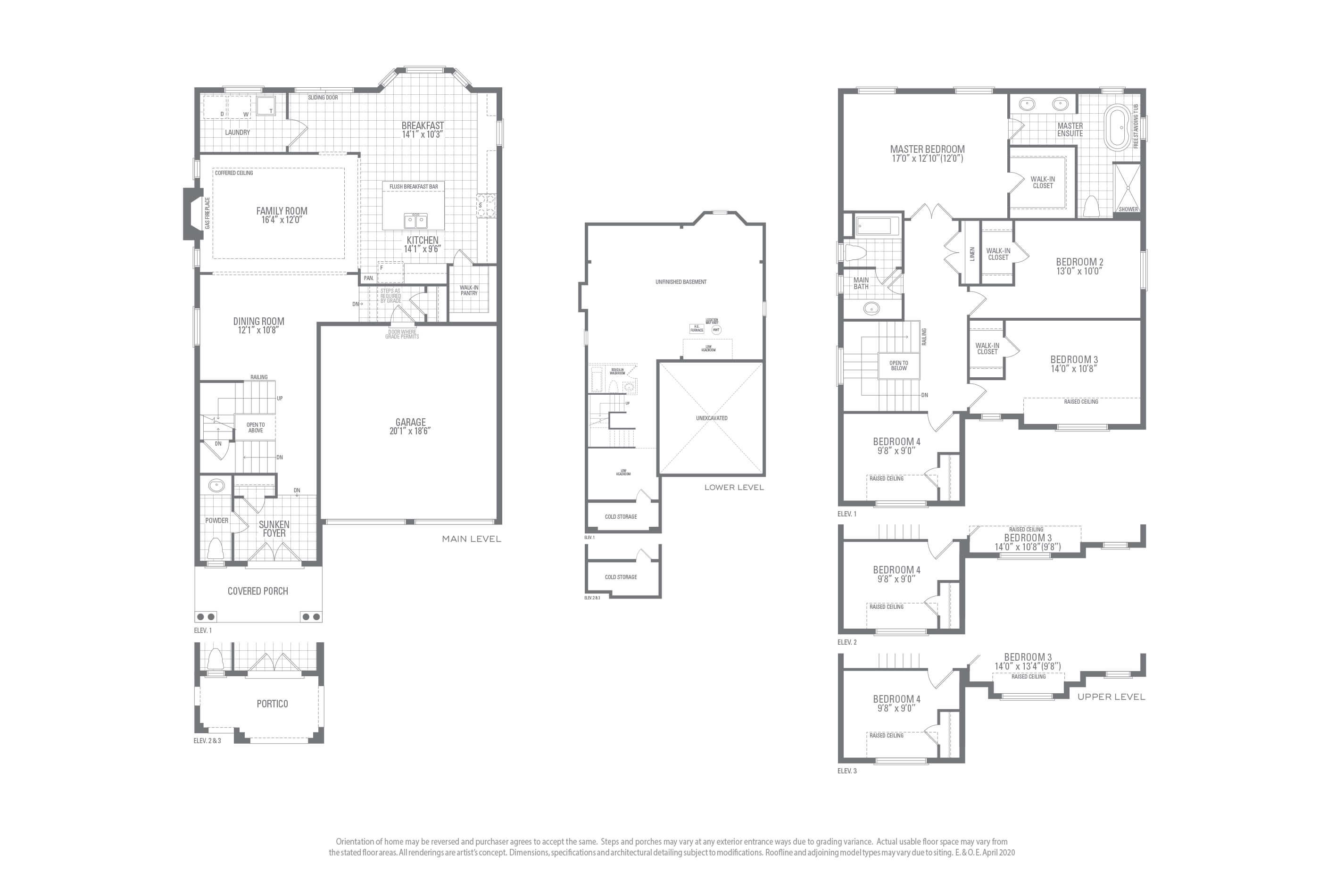 Valleycreek One Floorplan