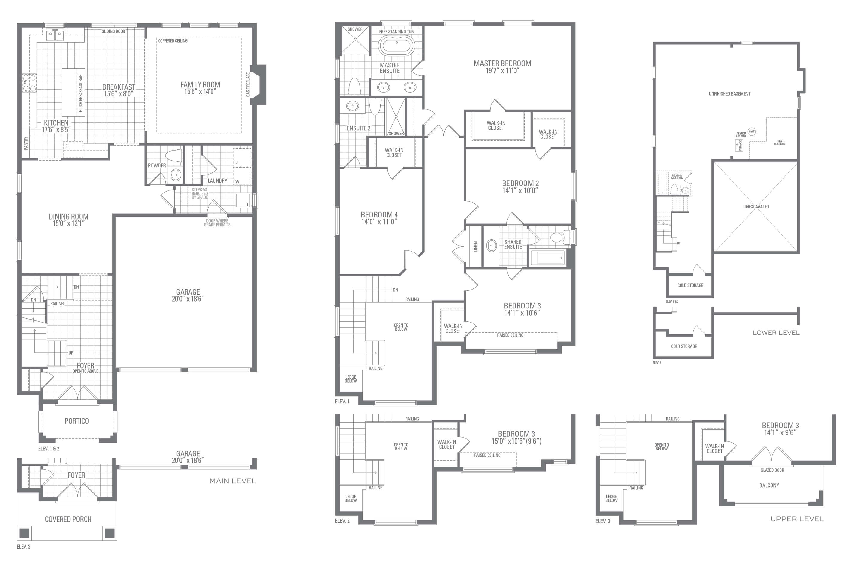 Valleycreek Three Floorplan