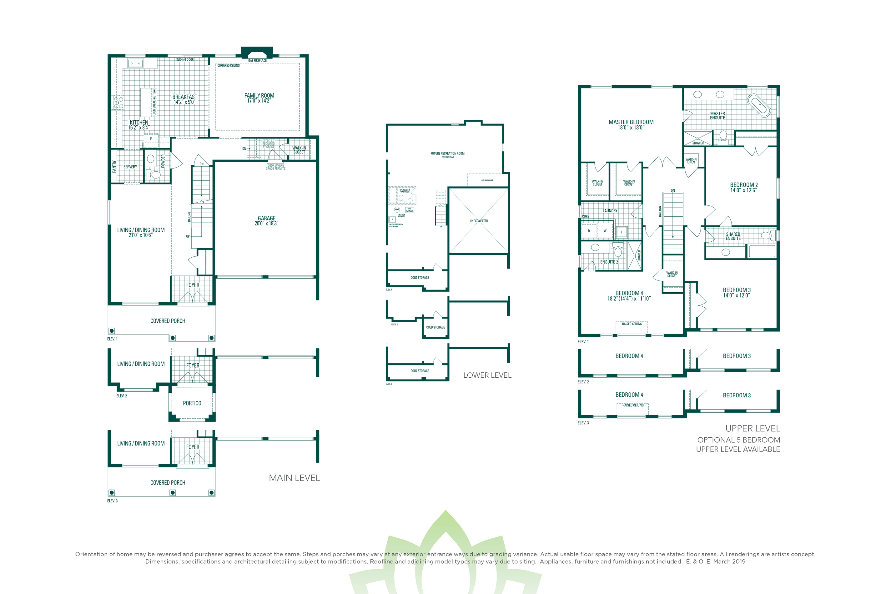 Woodcroft 3 Floorplan