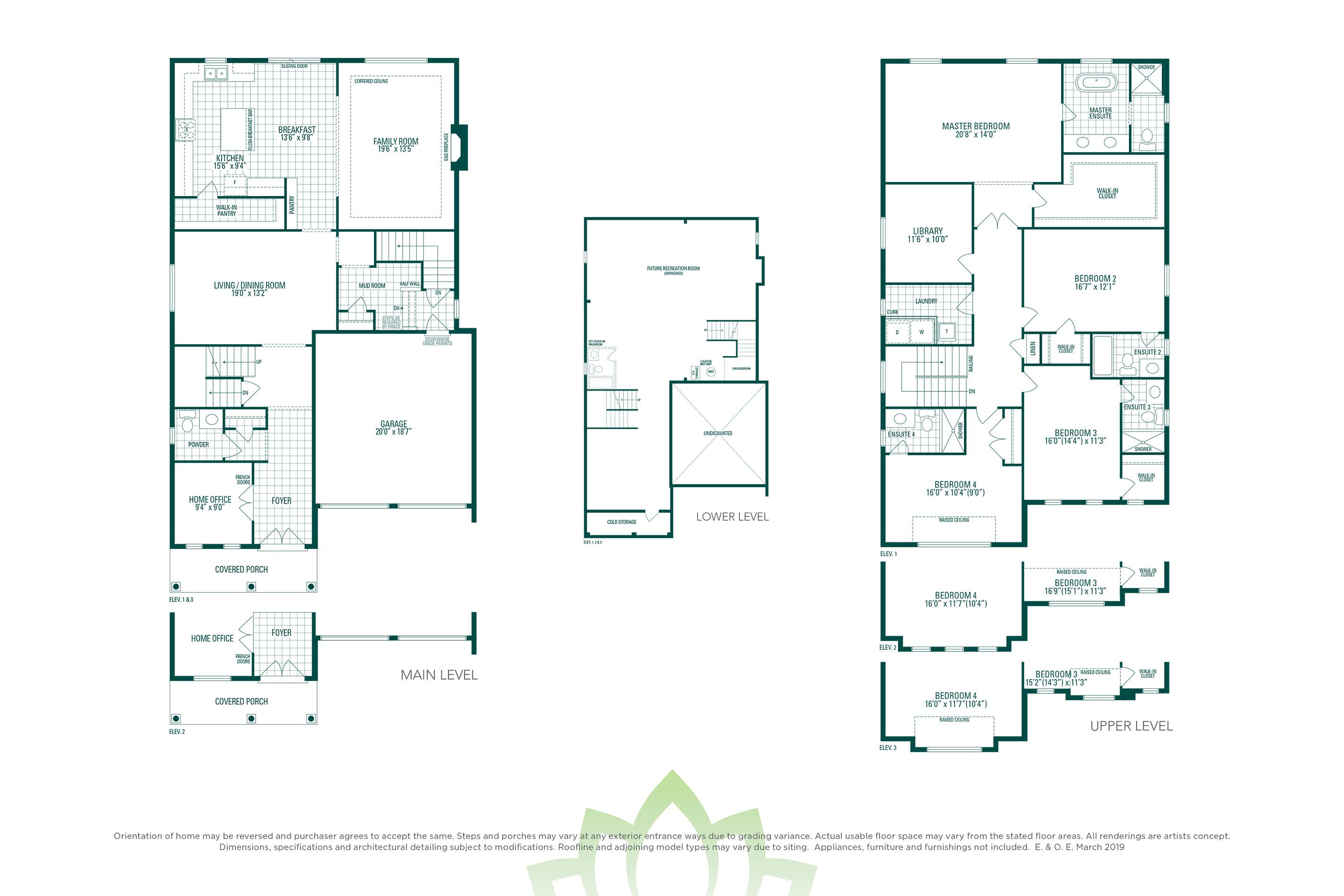 Woodcroft 4 Floorplan