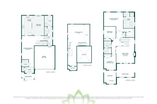 Barton 1 Floorplan