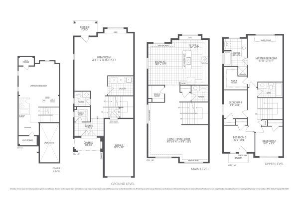 Dewberry 2E Floorplan