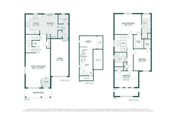Hemlock 1 Floorplan