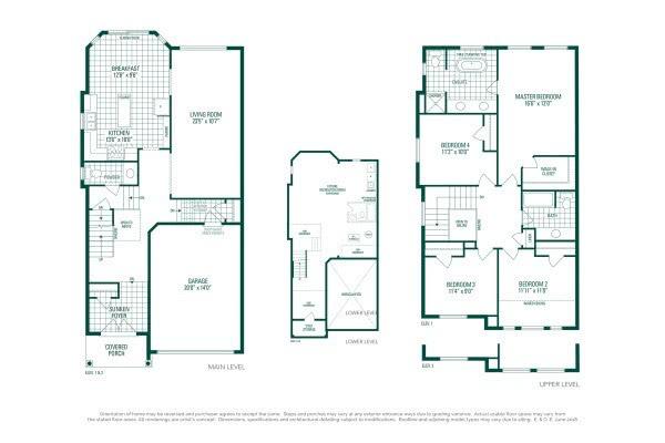 Hemlock 5 Floorplan