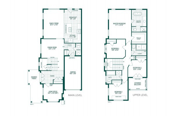 Block-334 T.H. #1 Floorplan