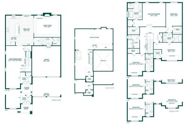 Kimberly Four Floorplan