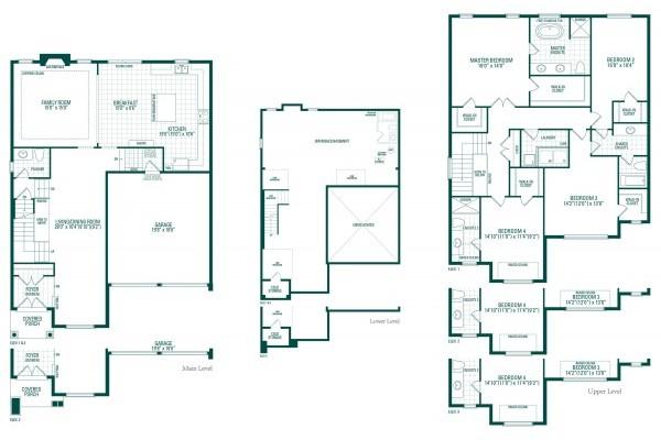 Kimberley Five Floorplan