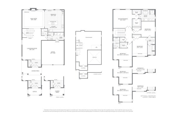 Mountainash Two Floorplan