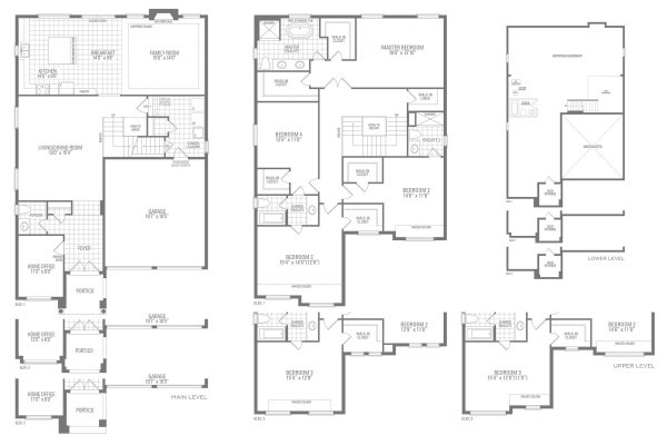Mountainash Three Floorplan