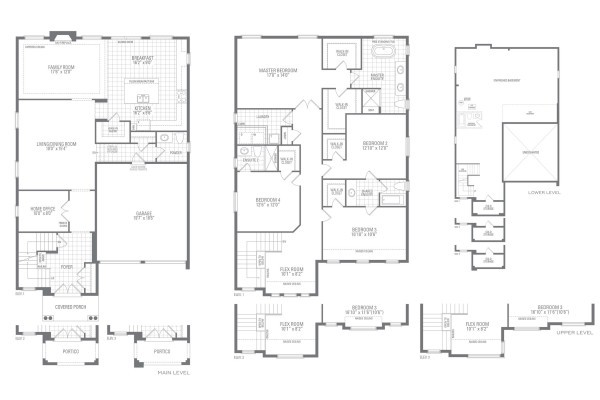 Mountainash Four Floorplan