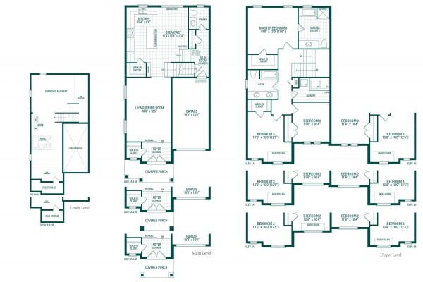 Peyton One Floorplan
