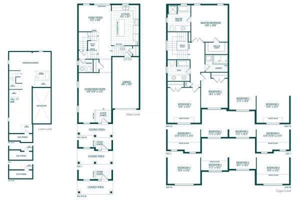 Peyton Three Floorplan