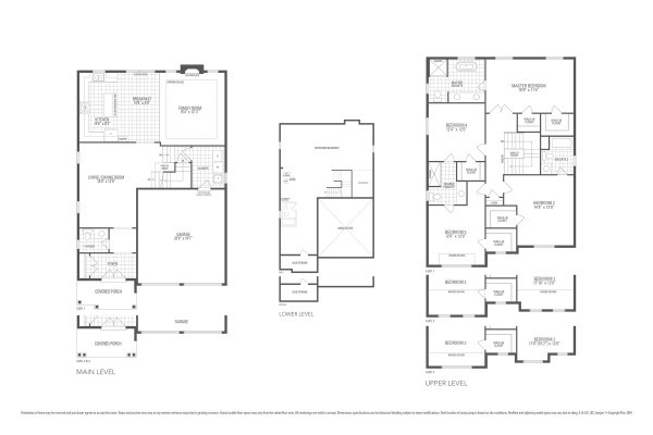 Rosewood 1A Floorplan