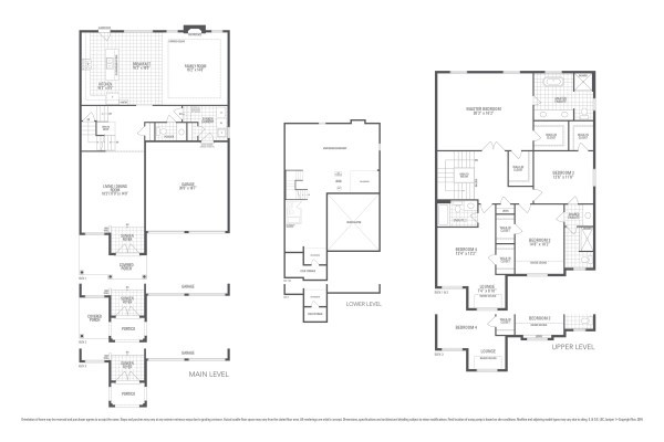 Rosewood 3 Floorplan