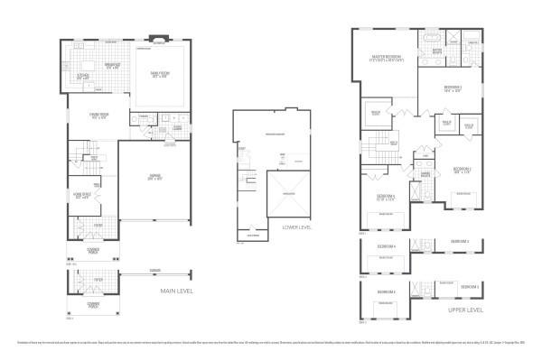 Rosewood 4 Floorplan