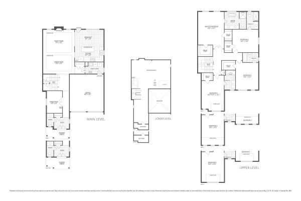 Rosewood 5 Floorplan