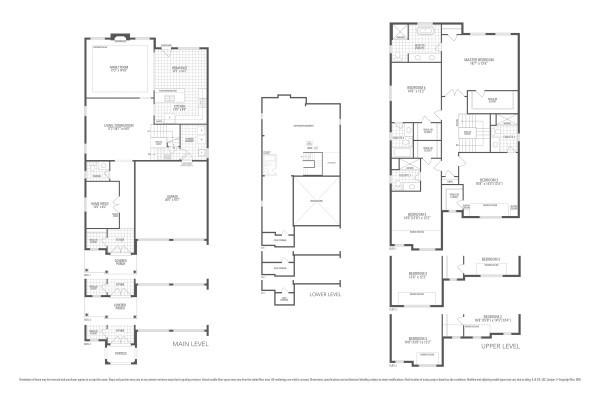 Rosewood 6 Floorplan